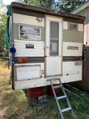 Old Truck Camper for Sale in La Center, WA