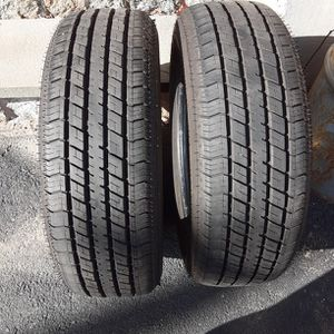 2 Good used Like New 205/65R16 OTANI tires for Sale in North Smithfield, RI