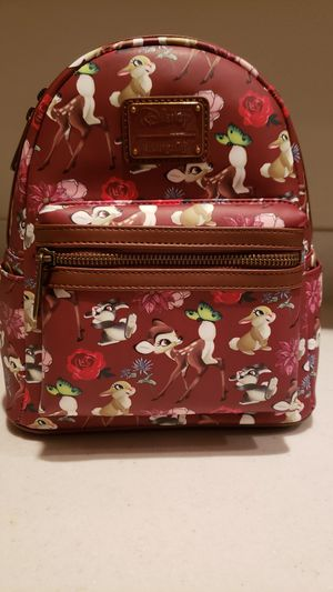 Black Friday Blowout! Beautiful Loungefly Bambi backpack - great placement! for Sale in Pomona, CA