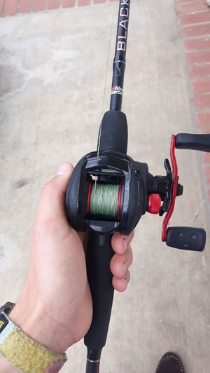 Fishing rod and reel combo for Sale in Huntington Beach, CA