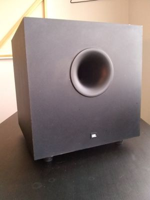 JBL Simply Cinema Subwoofer Model No. SUB125a for Sale in Charlotte, NC