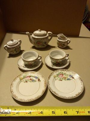 11 piece Collectible Miniature vintage toy Tea set service Japan for Sale in Naperville, IL
