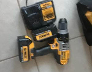 New hammer drill 2 batteries and a charger for Sale in San Diego, CA