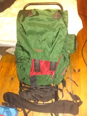 Large hiking camping backpack for Sale in Worcester, MA