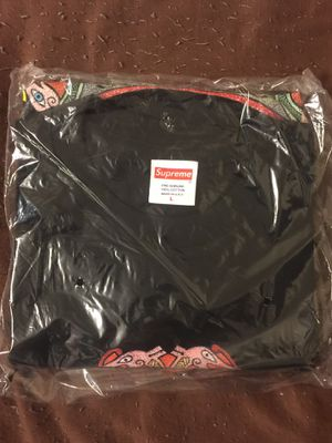 SUPREME NYC KNOT TEE T-Shirt Sz L Black NWT Hypebeast SS19 for Sale for sale  Brooklyn, NY