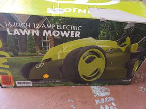 Electric lawn mower for Sale in Atascocita, TX