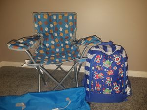 Kids Smores Chair and Sleeping Bag/Backpack Set for Sale in Sterling Heights, MI