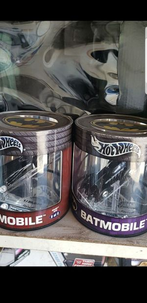 Hot wheels batmobile take both for 10$ for Sale in Los Angeles, CA