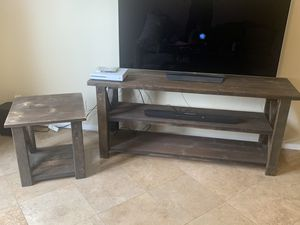TV Stand and Side Table for Sale in San Diego, CA