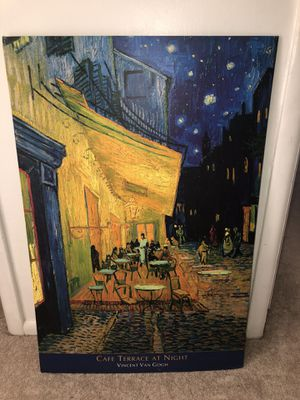 Cafe Terrace at Night -Vincent Van Gogh for Sale in Laverock, PA