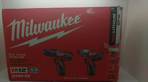 Milwaukee M12 2 tool combo kit 2494-22 brand new in box never use for Sale in Fort Lauderdale, FL