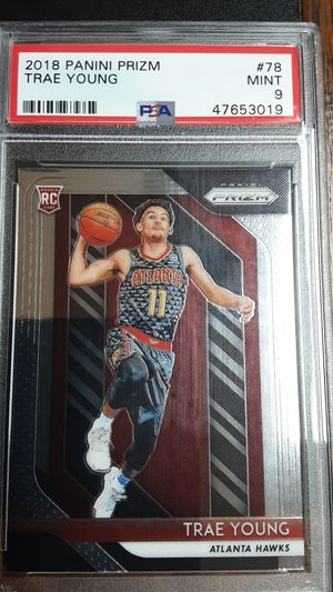 2018 punanny prism trae young psa 9 for Sale in Garden Grove, CA