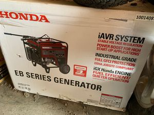 Honda EB 5000 Generator for Sale in Austin, TX