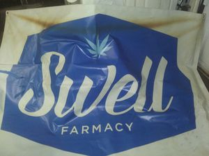 Big swell sign(banner) its approx 6x4 for Sale in Phoenix, AZ