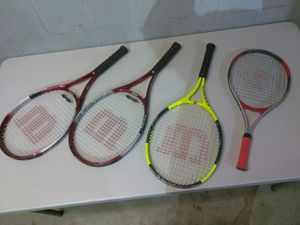 TENNIS RACKETS $10 EACH *READ DETAILS for Sale in St. Louis, MO