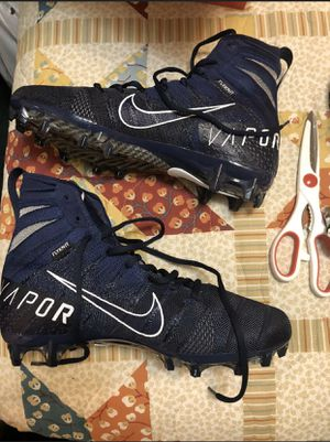 Nike Mens Vapor Untouchable 3 Elite Football Cleats Navy Size 8 AH7408 400 for Sale in Zachary, LA