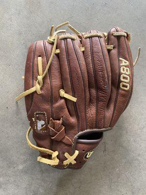 "Wilson A800 11.5 "" Baseball glove for Sale in Issaquah, WA"
