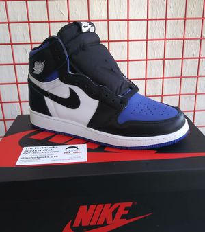 AIR JORDAN 1 RETRO ROYAL TOE SIZE 6Y GS NEW WITH BOX $300 for Sale in Cleveland, OH