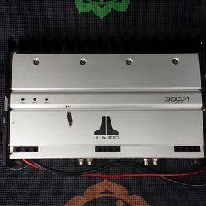 JL 300 watt 4 channel amp. Model Number 300/4 for Sale in Lexington, KY