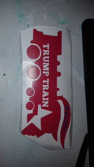5 trump train decals for Sale in Staunton, VA