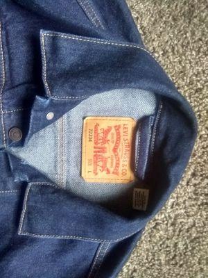 New Levi's Jean Jacket (Large) trucker style. for Sale in Salt Lake City, UT