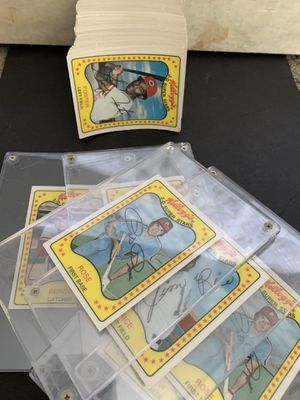 Complete set of 1981 Kellogg's 3 D Baseball Cards plus majority of 2nd set for Sale in Placentia, CA