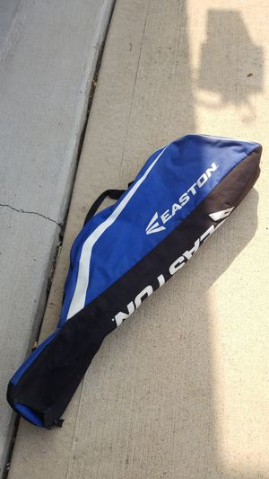 Baseball bag and batting gloves. for Sale in Hinsdale, IL