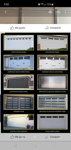 Garage doors for Sale in Santa Ana, CA