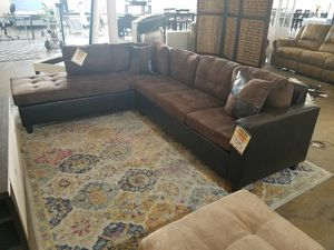 Chocolate Sectional Sofa Couch for Sale in Dallas, TX
