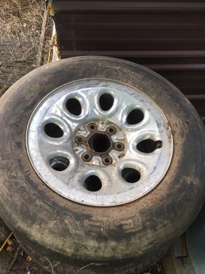 2000 Chevy Tahoe rims stock for Sale in Rosharon, TX