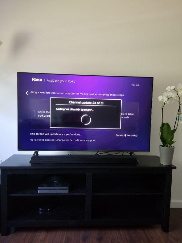 Samsung qled 55 4k smart TV