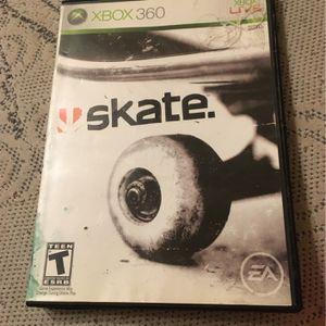Skate Xbox 360 for Sale in Reedley, CA
