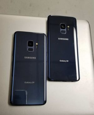 Samsung Galaxy S9 64gb Unlocked Excellent Condition $359 each for Sale in Durham, NC