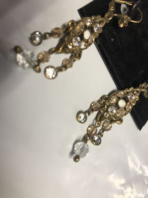 Stunning vintage earrings and necklace for Sale in Salem, OR