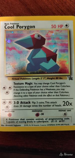 Cool Porygon HOLO & PROMO 15 for Sale in Chicago, IL