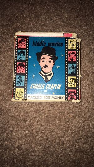 "Vintage Antique of a Real Charlie Chaplin film called, ""Married for Money"" HIGHLY RARE COLLECTABLE!!! for Sale in Alexandria, VA"