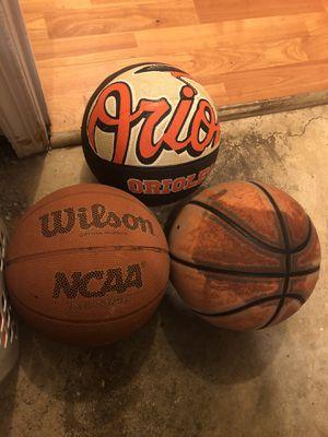 Basketballs for sale for Sale in Woodbridge, VA