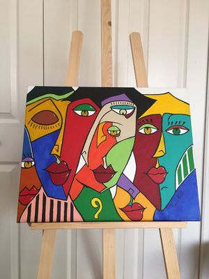 Abstract painting on canvas. for Sale in Auburndale, FL