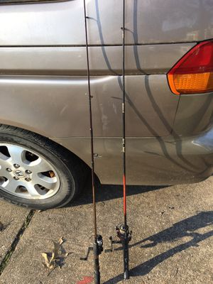 Fishing rod and rails only $20 each for Sale in Glen Burnie, MD