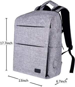 Laptops Backpack with USB Charging Port Water Resistant College School Computer Bag for Women & Men Fits 15.6 Inch for Sale in New York, NY
