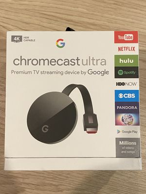 Chromecast Ultra 4K HDR Capable for Sale in Peoria, AZ