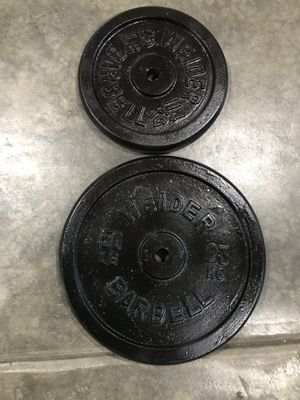 """50lb & 25lb Standard 1"""" weight for Sale in Normandy Park, WA"""