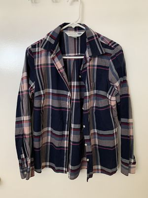 Medium Aeropostale women's plaid shirt for Sale in Sacramento, CA