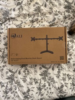 Wali Dual Monitor Stand for Sale in Portland, OR