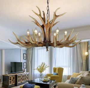 🔥 NEW Retro Antique Antler Candle Chandelier Resin Hanging Light for Sale in Coral Gables, FL