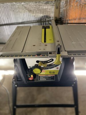 Craftsman wood table saw perfect working and very good cosmetic conditions for Sale in La Porte, TX