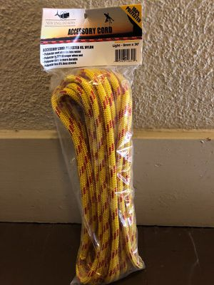 New England Accessory Cord 8mm x 30' for Sale in San Francisco, CA