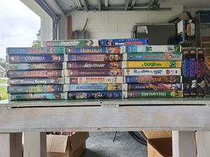 Lot of 26 VHS Movies (Mostly Disney) for Sale in Palm Bay, FL