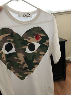 CDG Camo T shirt for Sale in Sacramento, CA