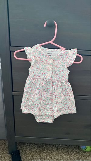 3 month baby girl flowered dress for Sale in Anaheim, CA